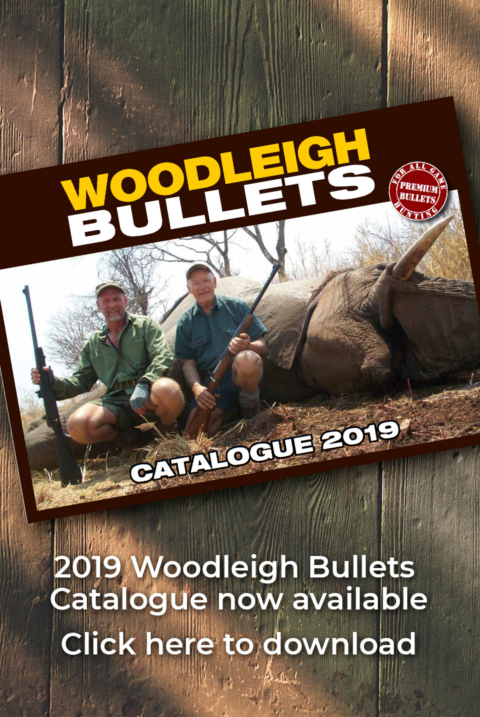 Premium Bullets for all Game - Woodleigh Bullets