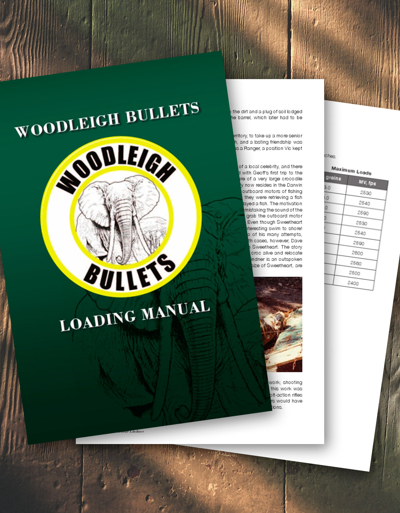 Woodleigh Bullets Loading Manual